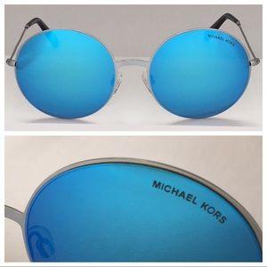M KORS MK5017 Kendall II Blue/Silver sz 55-19-135